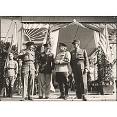 view Dwight Eisenhower, Bernard Montgomery, Georgi Zhukov, and Jean de Lattre de Tassigny digital asset number 1