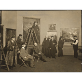 view Hanging Committee for the 113th Annual Exhibition, 1938, National Academy of Design digital asset number 1
