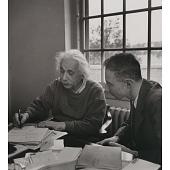 view J. Robert Oppenheimer and Albert Einstein digital asset number 1