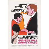 view Stan Getz, Dionne Warwick and Joe Mooney digital asset number 1