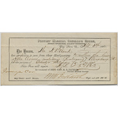 view Provost Marshal Pass, April 8, 1865 digital asset number 1