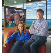 view Bill and Melinda Gates digital asset number 1