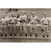 view Babe Ruth and other Red Sox pitchers digital asset number 1