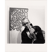 view Keith Haring digital asset number 1