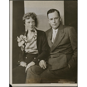 view Amelia Earhart (with George Palmer Putnam) digital asset number 1