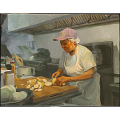 view Cutting Squash (Leah Chase) digital asset number 1