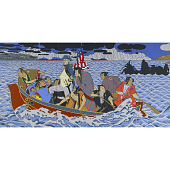 view Shimomura Crossing the Delaware digital asset number 1