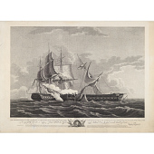 view U.S. Frigate Constitution with Commander Isaac Hull digital asset number 1