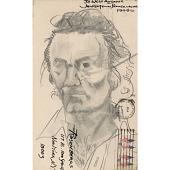 view Larry Rivers Self-Portrait digital asset number 1