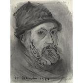 view Paul Resika Self-Portrait digital asset number 1