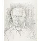 view Jack Tworkov Self-Portrait digital asset number 1