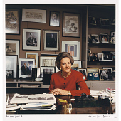 view Katharine Graham at her Washington Post Desk digital asset number 1