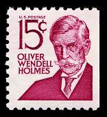 view 15c Oliver Wendell Holmes booklet single digital asset number 1