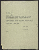 view Howard Wise letter to unidentified recipient, Venice, Italy digital asset number 1
