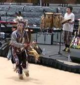 view Living Earth Festival: Pokagon Drum and Dance Troupe digital asset number 1