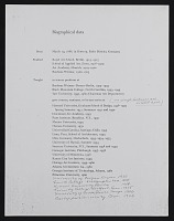 view Josef Albers papers digital asset: Curriculum Vitae and Bibliography