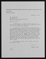 view Letter from Eugene W. Leake digital asset: Letter from Eugene W. Leake