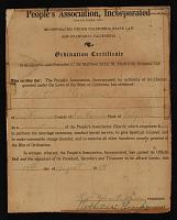 thumbnail image for Ordination certificate for Robert Alexander