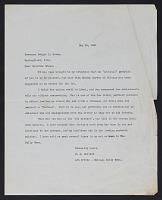 thumbnail image for C. J. (Clarence Joseph) Bulliet letter to Dwight H. (Dwight Herbert) Green