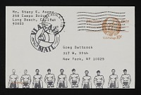 thumbnail image for Stacey Aspey mail art to Gregory Battcock
