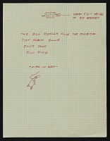 thumbnail image for John Baldessari mail art to Billy Al Bengston