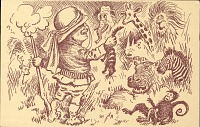 thumbnail image for Postcard designed for Theodore Roosevelt