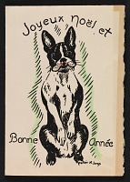 thumbnail image for Lois M. Jones holiday card to Martin Birnbaum