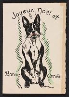 thumbnail image for Lois M. Jones holiday card to Martin Birnbaum