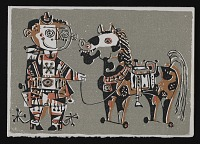 thumbnail image for Herman H. Graff christmas card to Kathleen Blackshear