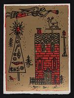 thumbnail image for Gordon Kensler, Or. christmas card to Kathleen Blackshear
