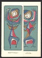 thumbnail image for Holiday card from Bill Brincka to Ethel Spears and Kathleen Blackshear
