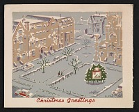 thumbnail image for Rowena Fry Christmas card to Ethel Spears