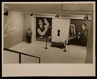 thumbnail image for Henry Botkin outside Promenades exhibit
