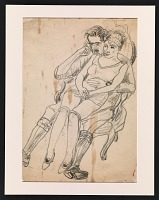 thumbnail image for Sketch of Louis and Marian Bouché