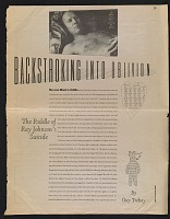thumbnail image for Backstroking into oblivion: The riddle of Ray Johnson's suicide
