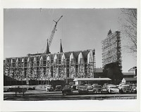 thumbnail image for St. John's Abbey and University under construction, Collegeville, Minnesota