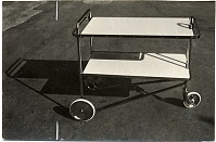 thumbnail image for Tea cart designed by Marcel Breuer