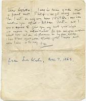 thumbnail image for Louis I. Kahn to Marcel Breuer