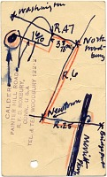 thumbnail image for Alexander Calder postcard to Marcel Breuer