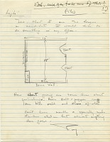 thumbnail image for Rufus Stillman, Litchfield, Conn. letter to Marcel Breuer, New York, N.Y.