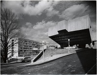 thumbnail image for New York University, south view with residence hall and lecture hall buildings