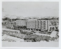 thumbnail image for A new hotel for Kabul. Marcel Breuer, Robert F. Gatje, and Walter Brune & Partner, architects