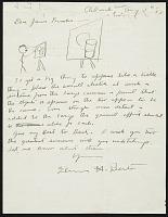 thumbnail image for Thomas Hart Benton letter to James Brooks