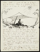 thumbnail image for Bolton Brown transcript of a letter to his parents