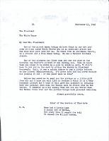 thumbnail image for Edward Bruce letter to Franklin D. (Franklin Delano) Roosevelt