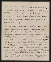 thumbnail image for Jackson Pollock letter to Louis Bunce
