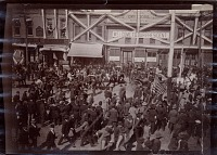 thumbnail image for President Benjamin Harrison in Salt Lake City, Utah during his Western tour of the United States