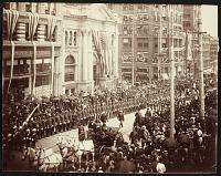 thumbnail image for Parade celebrating President Harrison's Pacific tour
