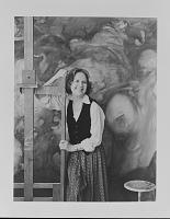 view Dorothea Tanning in studio digital asset number 1