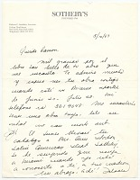 view Dolores C. Smithies, New York, N.Y. to Ramón Carulla digital asset number 1